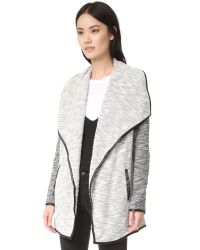 BB Dakota - Black Jack By Daphene Mixed Jacket - Lyst