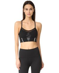 Beyond Yoga | Black Final Cut Bralette | Lyst