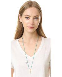 Chan Luu - Blue Brooke Horn Necklace - Lyst