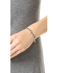 Chan Luu - Metallic Ariel Cuff Bracelet - Lyst