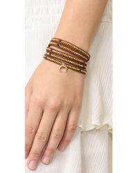Chan Luu - Brown Aiden Wrap Bracelet - Lyst
