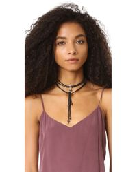 Chan Luu - Black Let It Hang Out Necklace - Lyst