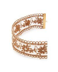 Chan Luu - Metallic Choker Necklace - Lyst