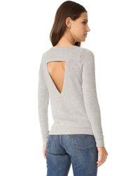 Chaser   Gray Weekend Love Sweatshirt   Lyst