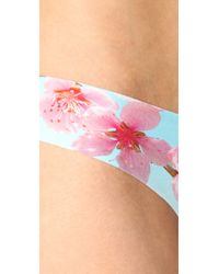 Commando - Multicolor Cherry Blossom Thong - Lyst