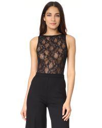 Cosabella | Black Montie Sleeveless Bodysuit | Lyst