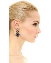 DANNIJO | Metallic Kerry Earrings | Lyst