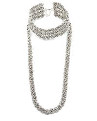 DANNIJO | Metallic Yarminiah Necklace | Lyst