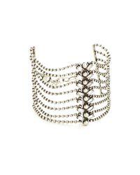DANNIJO | Metallic Rylan Bracelet | Lyst