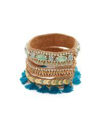 Deepa Gurnani | Multicolor Deepa By Ova Bracelet | Lyst