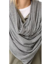 Donni Charm - Gray Donni Thermal Scarf - Lyst