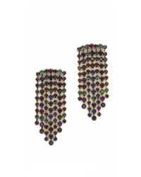 Erickson Beamon - Multicolor Hyperdrive Waterfall Earrings - Lyst