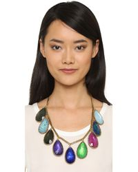 Erickson Beamon | Multicolor Hyperdrive Teardrop Necklace | Lyst