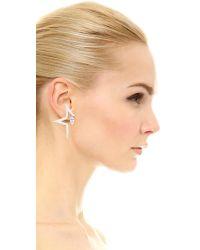 Eddie Borgo - Metallic Mercury Earrings - Lyst