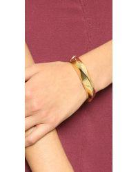 Elizabeth and James - Metallic Tate Cuff Bracelet - Lyst