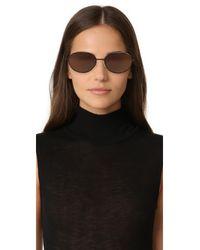 Elizabeth and James - Brown Fenn Sunglasses - Lyst