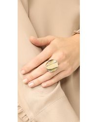 Elizabeth and James | Metallic Montero Ring | Lyst