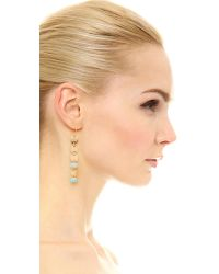 Elizabeth and James - Metallic Marta Earrings - Lyst