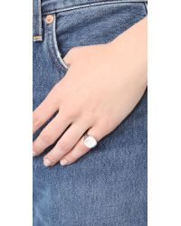 Elizabeth and James - Metallic Lee Pinky Ring - Lyst