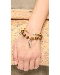 Elise M | Metallic Allegra Bracelet | Lyst