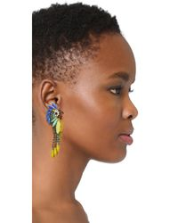 Elizabeth Cole - Multicolor Daya Earrings - Lyst