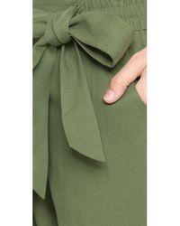 Ella Moss - Green Yasi Shorts - Lyst