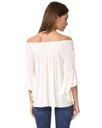 Ella Moss - Multicolor Stella Off Shoulder Top - Lyst