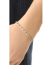 Ela Rae - Blue Dayna Wire Wrapped Bracelet - Lyst