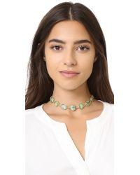 Ela Rae - Multicolor Sadie Choker Necklace - Lyst