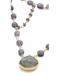Ela Rae - Multicolor Cleo Necklace - Lyst