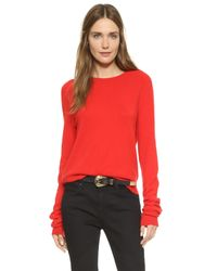 Equipment - Multicolor Kate Moss Ryder Sweater With Elongated Sleeves - Lyst