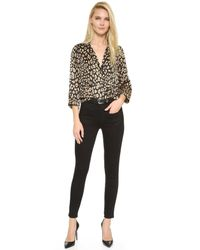 Equipment - Black Kate Moss Warren Skinny Jeans - Lyst
