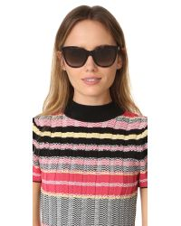 Fendi - Brown Cube Sunglasses - Lyst
