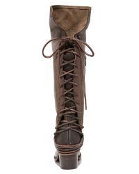 Freebird by Steven | Gray Coal Tall Boots | Lyst