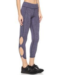 Free People | Purple Movement Infinity Leggings | Lyst