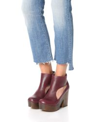 Free People - Multicolor Horizon Cutout Clogs - Lyst