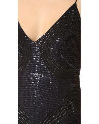 Free People - Black Sparklette Mini Dress - Lyst