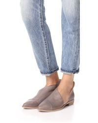 Free People | Gray Royale Flats | Lyst