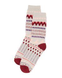 Free People | Pink Making Waves Slipper Socks | Lyst