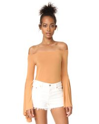 Free People - Natural Birds Of Paradise Top - Lyst
