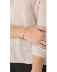 Gabriela Artigas - Metallic Delicate Bracelet Cuff - Lyst