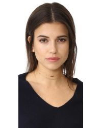Gorjana | Metallic Chloe Mini Choker Necklace | Lyst