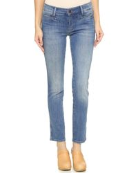 M.i.h Jeans   Blue Sugarland Midrise Bootcut Jeans   Lyst
