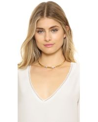 House of Harlow 1960 - Metallic Age Of Antiquity Collar Necklace - Lyst