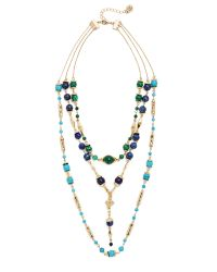House of Harlow 1960 - Green Cairo Layered Statement Necklace - Lyst