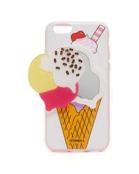 Iphoria - White 3 Scoops Mirror Iphone 6 / 6s Case - Lyst