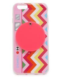 Iphoria - Pink Rainbow Camera Iphone 6 / 6s Case - Lyst