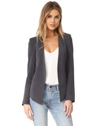James Jeans | Gray The V Blazer | Lyst