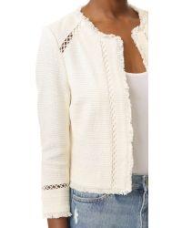 Joie - Natural Tofino Tweed Jacket - Lyst