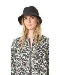 kate spade new york | Black Nylon Bucket Hat | Lyst